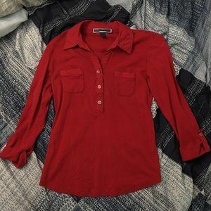 Karen Scott button down shirt